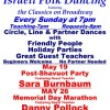Dance Party with Sara Burnbaum, May 19 & Memorial Day Marathon with Danny Pollock, May 26