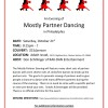 Mostly Partners Dancing October 21st